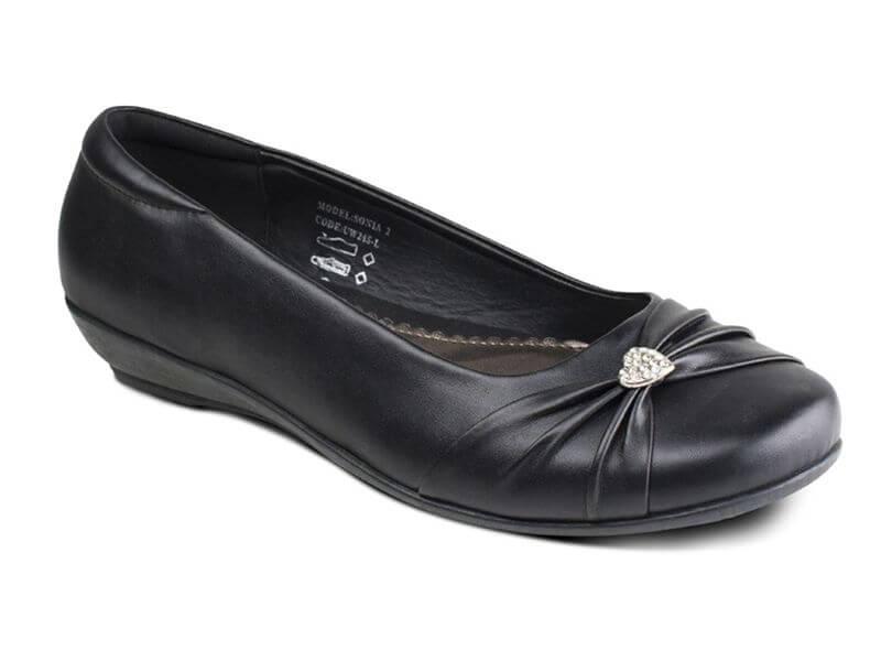 US Brass Girls Shoes – Sonia (Mat)